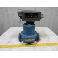 Tokheim 682-15-SP-L-1 Piston Flow Meter  2-40 GPM W/Analog Register (Liters)