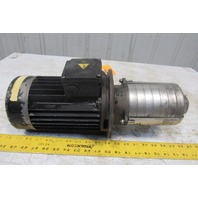 "Vertical Multi Stage Coolant Pump 208-230/460V 3 Phase 3/4"" NPT"