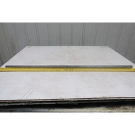 """1"""" x 41-1/2"""" Steel Conveyor Take-Up Rod Assembly 1/2-20 Bore"""
