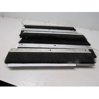 """24-1/2"""" Strip Brush For CNC Router Conveyor Belt Cleaning 4"""" Bristles Lot Of 6"""