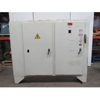 "72""X14""X88"" 3 Door Electrical Enclosure W/600A Fused Disconnect & Back Plate"