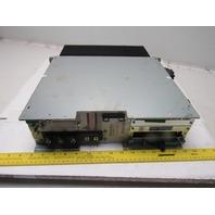 Indramat DDS02.2-A100-B AC Servo Controller Drive W/Cards FWA-DIAX03-EL05V14MS