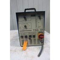 Tucker TSG 65 Stud Welding Welder Power Supply 650A 500V 50Hz