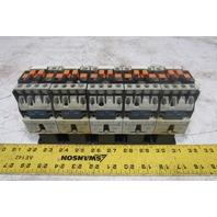 Telemecanique CA3 DN 40 Control Relay 24V Coil Lot of 5