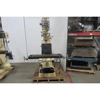Supermax YC-1.5VS-T Vertical Turret Milling Machine W/ Bridgeport Head