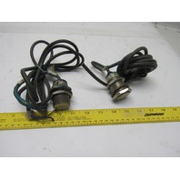 Omron E2E-X10Y1-53US Inductive Proximity Switch Lot of 2