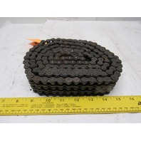 Morse #40-3 Triple Strand Riveted Roller Chain 6'