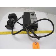 Bodine 24A4BEPM-D# DC Gear motor W/JB8042C45 Adjustable Speed Control 115V 1ph