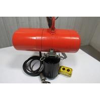 CM Lodestar Model AA 1/8 Ton Electric Chain Hoist 60FPM  10' 230/460V 3Ph