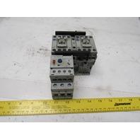 Allen Bradley 104-C09D22 Ser. B Reversing Starter W/193-EEDB Overload 120V Coil