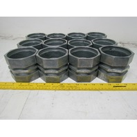 "Regal 618 3"" EMT Conduit Fitting Compression Coupling Lot of 12"