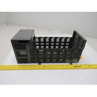 Allen Bradley 1746-A7 Ser B 7 Slot Rack W/1746-P3 Power Supply