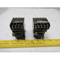 Fuji Electric SRCa 3631-05Z324A 4 & 5 Pole Magnetic Contactor 110V Coil Lot/2