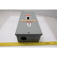 ITE E2NIS 100A 600V Circuit Breaker Enclosure W/100a 480V 3 Pole E43B100