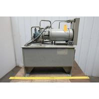 Tec-Hackett 5Hp 20 Gallon Hydraulic Power Unit/Station 208-230/460V 3Ph 1350psi