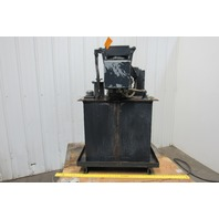 5Hp 40 Gallon Hydraulic Power Unit/Station 208-230/460V 3Ph