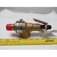 """Kunkle 6283EDM01 3/4"""" 60PSIG 788LB/HR Pressure Relief Safety Valve"""
