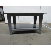 "H.D. 5/8"" Thick Top Steel Fabrication Layout Welding Table Work Bench 60"" x 40"""