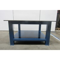 "H.D. 3/4"" Thick Top Steel Fabrication Layout Welding Table Work Bench 60"" x 60"""