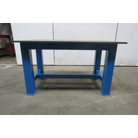 "H.D. 3/4"" Thick Top Steel Fabrication Layout Welding Table Work Bench 60"" x 36"""