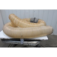 "8"" Reinforced Suction Hose Tube With Hanger Strap 17'"