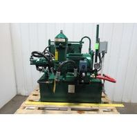Continental 20 Gallon 10Hp 230/460V 3PH Hydraulic Unit W/Heat Exchanger & Valve