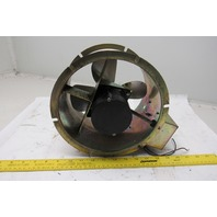 "Satoh Kogyo SF200-40-2 9-1/2"" 100V AC/DC Tubeaxial Tube Axial Blower Fan"