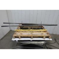 "Amada PEGA305072 Work Positioning Linear Bearing Rails 87"" x 45mm x 38mm Lot/2"