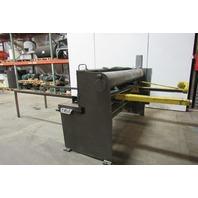Chicago Dreis & Krump UA 6135 10ga 6' Hydraulic Shear W/ Power Back Gauge 460V