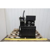 2.2KVA 20 Gallon Hydraulic Power Unit/Station 230/460V 3Ph W/Heat Exchanger