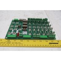 Glunz & Jensen 10034941 Rev D PCB Panel Fuse Board