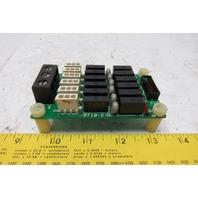 Fuji Fi-RY-6A-14C 9710-2 Relay Circuit Board