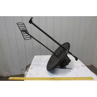Mixer Tank Barrel Pneumatic Air Mixer W/Gear Reducer Fits 55 Gallon Drum