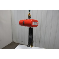 CM Lodestar L2  Electric Chain Hoist 1 Ton 2 Speed 5/16 FPM 460V 3Ph 20' Lift