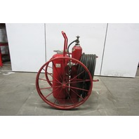 Ansul A-150-C Steel Wheeled Foray Agent ABC Dry Chemical Fire Extinguisher
