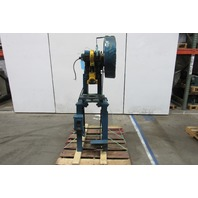 "Rousselle 1A 1Hp Mechanical 10 Ton OBI Punch Press 2"" Stroke 4-1/4"" Throat"