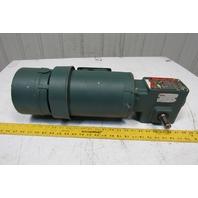 Reliance P56H3439U 5:1 Ratio 1Hp 3Ph 208-230/460-480V 60Hz Gear Motor W/Brake