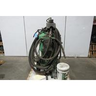 MMLJ INC DB-800 39D17 Dustless Sand Media Glass Blaster Blasting Unit 51' Hose