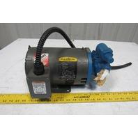 Baldor Viking CM3116T G475 1Hp 208-230/460V 1725RPM Motor Transfer Pump Relief