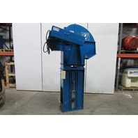 "Single Bucket Elevator 12""wide w/60"" Discharge 208-230/460V 3Ph"