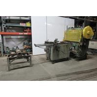 "Morgan Rushworth 48"" x 1/8"" Power Feed Automatic Mechanical Shear 480V 3PH"