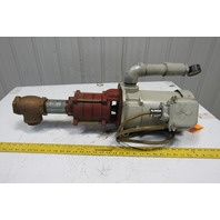 """Mitsubishi NQ-1503A Super Line 1.5kW 3Ph 220V 2""""Port 3 Stage Piston Coolant Pump"""