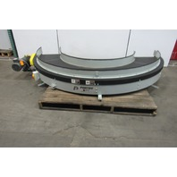 "Portec Sigma 180° Power Curve Flat Top Conveyor 18""W 230/460V 106FPM 1-1/2HP"