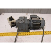 Sew Eurodrive R37 DT71C4/TF/IS 45:1 Ratio 0.25kW 38RPM 277/480V Gear Motor