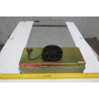 "Fanuc A02B-0047-C907 38"" x 21"" External Panel Mount Fan Cooling Unit"
