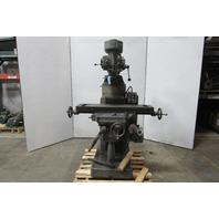 "Tree 2VGC Vertical Milling Machine 3HP 1-1/2""x42"" Bed 220/440V 3Ph"