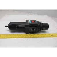 "Wilkerson B28-04-FK00 0-250 PSI 3/4"" NPT Inline Air Filter Regulator"
