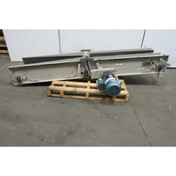 "Adjustable Incline Slide Bed Conveyor 16""x 102"" OAL  230/460V 3Ph"