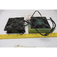 Centaur CT3B52E3 208-230V 1Ph 50/60Hz Cooling Fans Lot Of 2