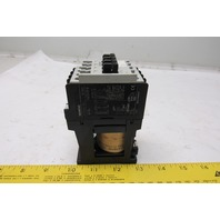 Siemens 3TF30 10E 3TF3010-0B Contactor 24VDC Coil 4 Pole